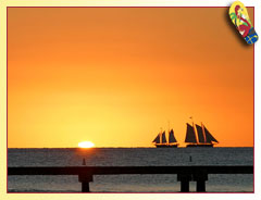 Key West Sunset ... Photo by Rob O'Neal